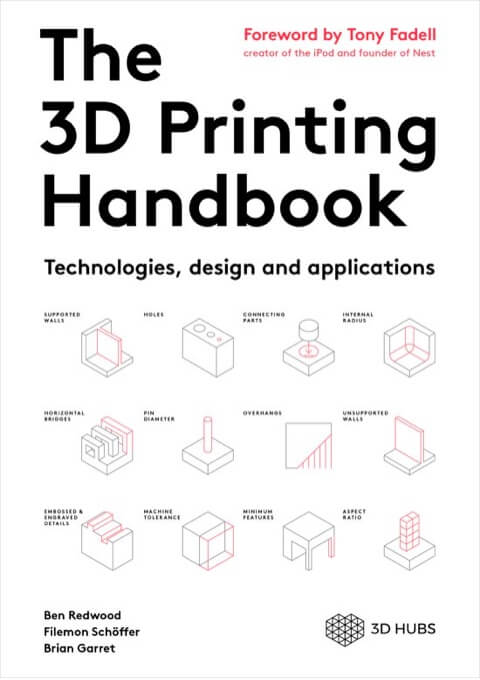 Cover of the 3D Printing Handbook