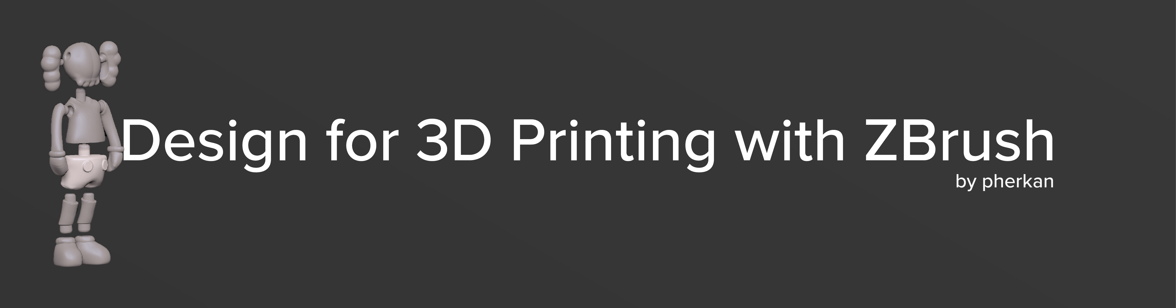 Design for 3D Printing with ZBrush - CAD / Show and tell