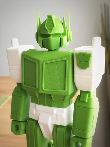 optimus prime transformers action masters 3D printed imprimé en 3D fichier STL guvrnor cults 1.jpg