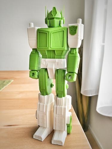 optimus prime transformers action masters 3D printed imprimé en 3D fichier STL guvrnor cults 2.jpg