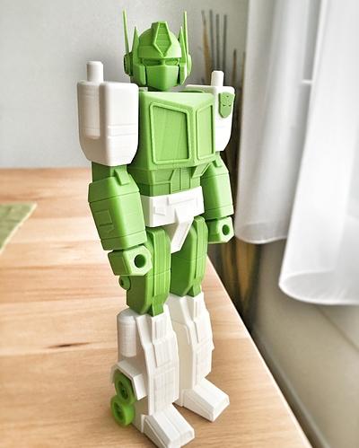 optimus prime transformers action masters 3D printed imprimé en 3D fichier STL guvrnor cults 3.jpg