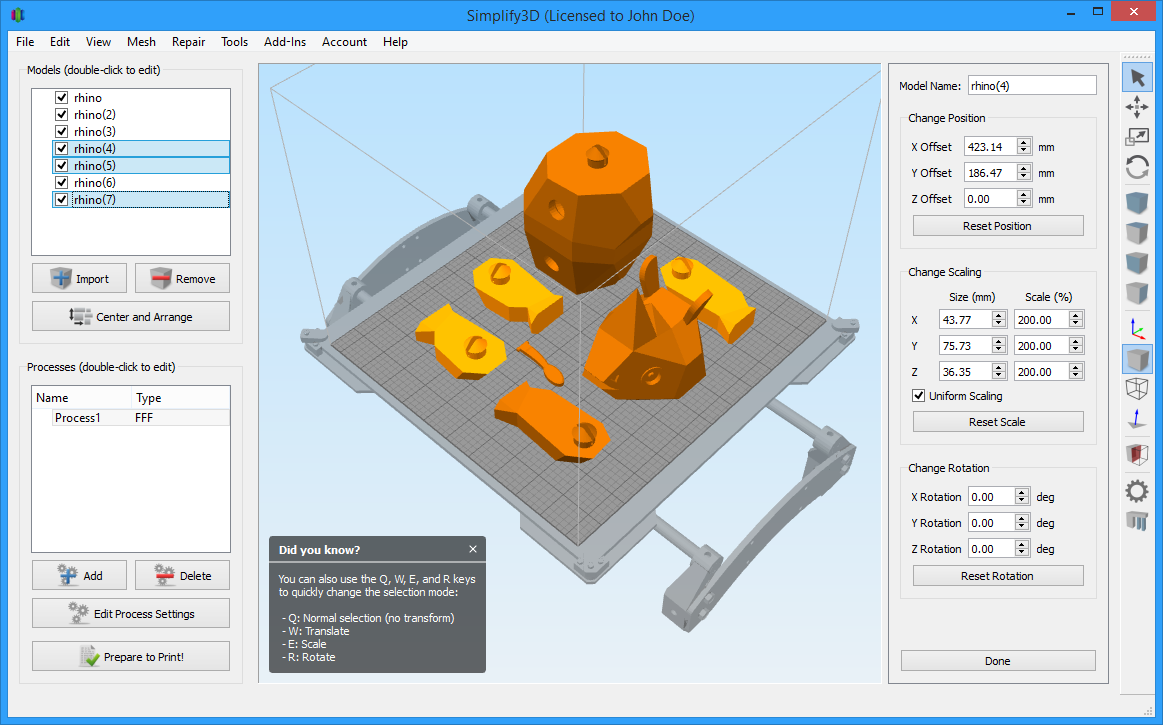 Simplify3D Version 3 0 is out! - 3D Printing / Software