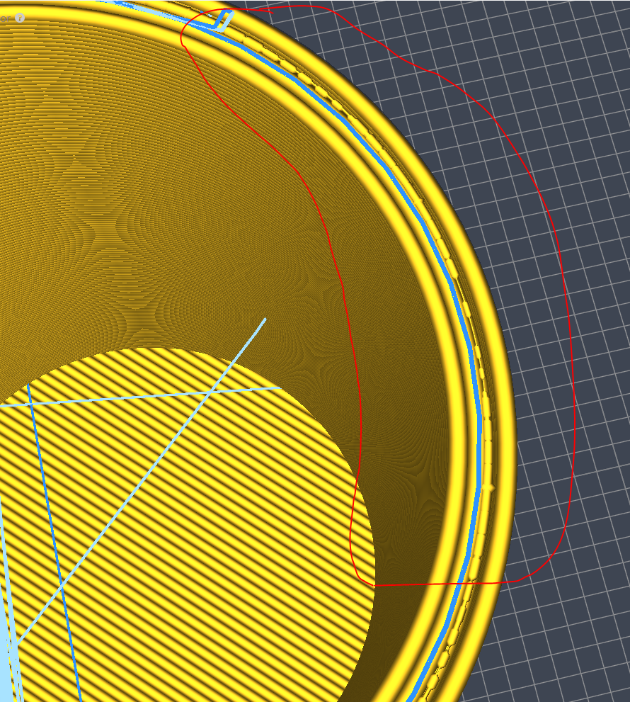 Need help with voids in layer start/end Cura 3 2 1 - 3D