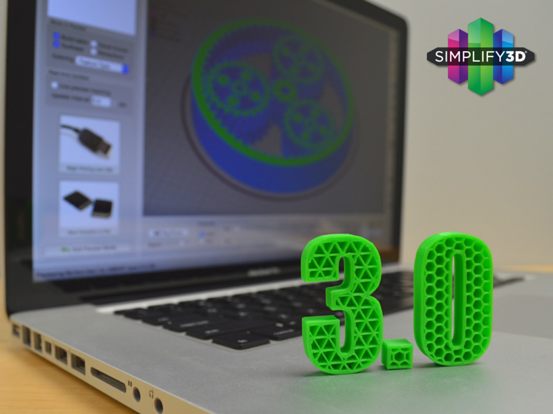 Simplify3D Version 3 0 is out! - 3D Printing / Software - Talk