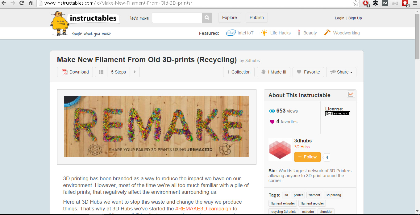 3d Hubs Instructables How To Make Your Own Filament 3d Printing