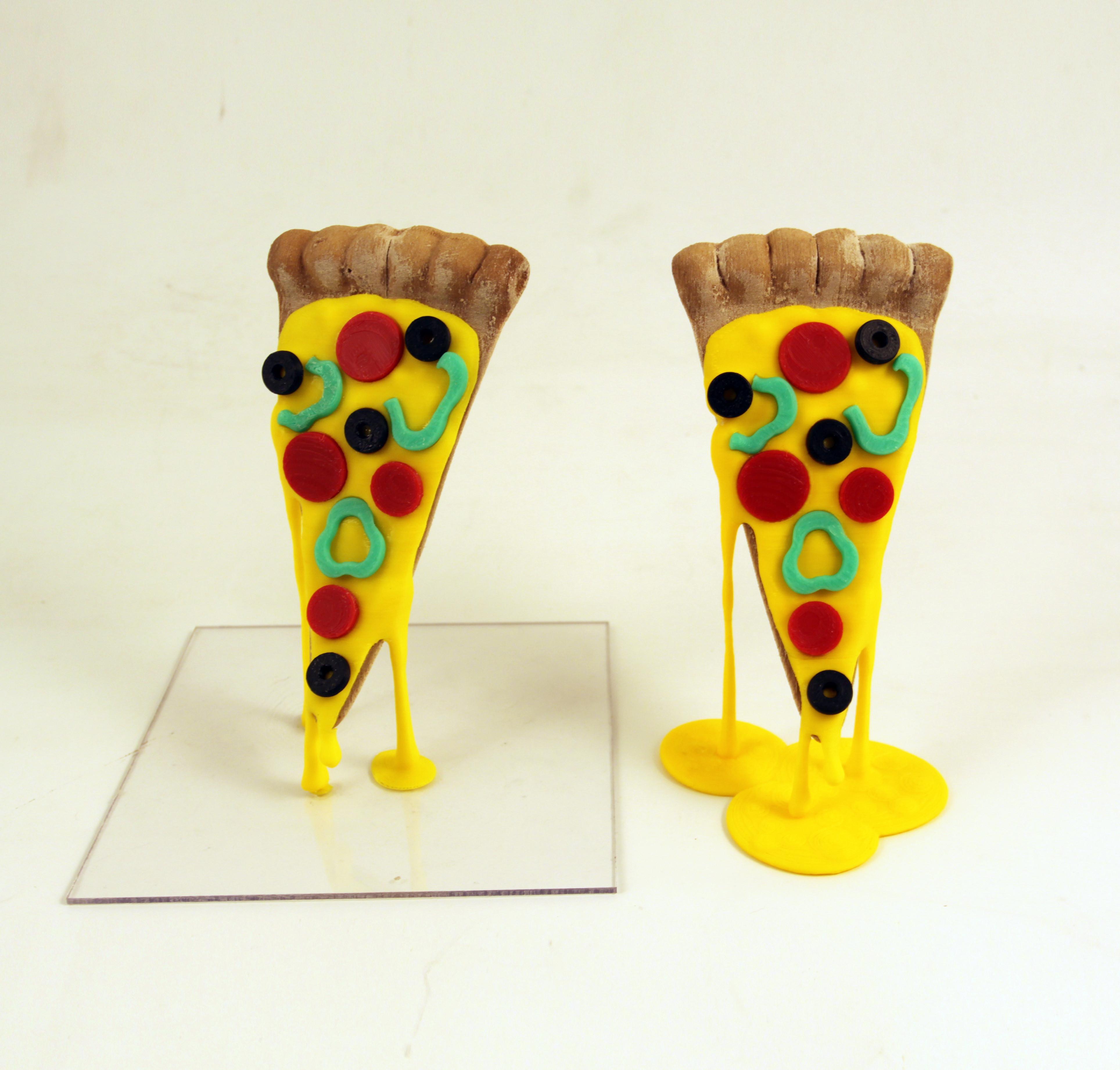 3D Printed Pizza Slice