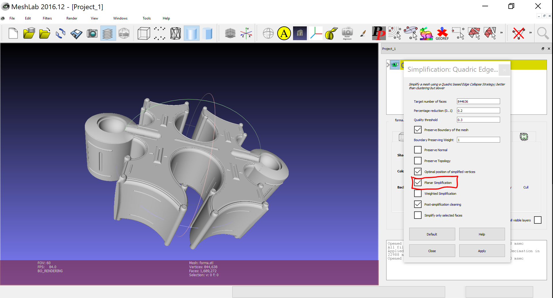 High Polygon Count Reduction - CAD - Talk Manufacturing   3D