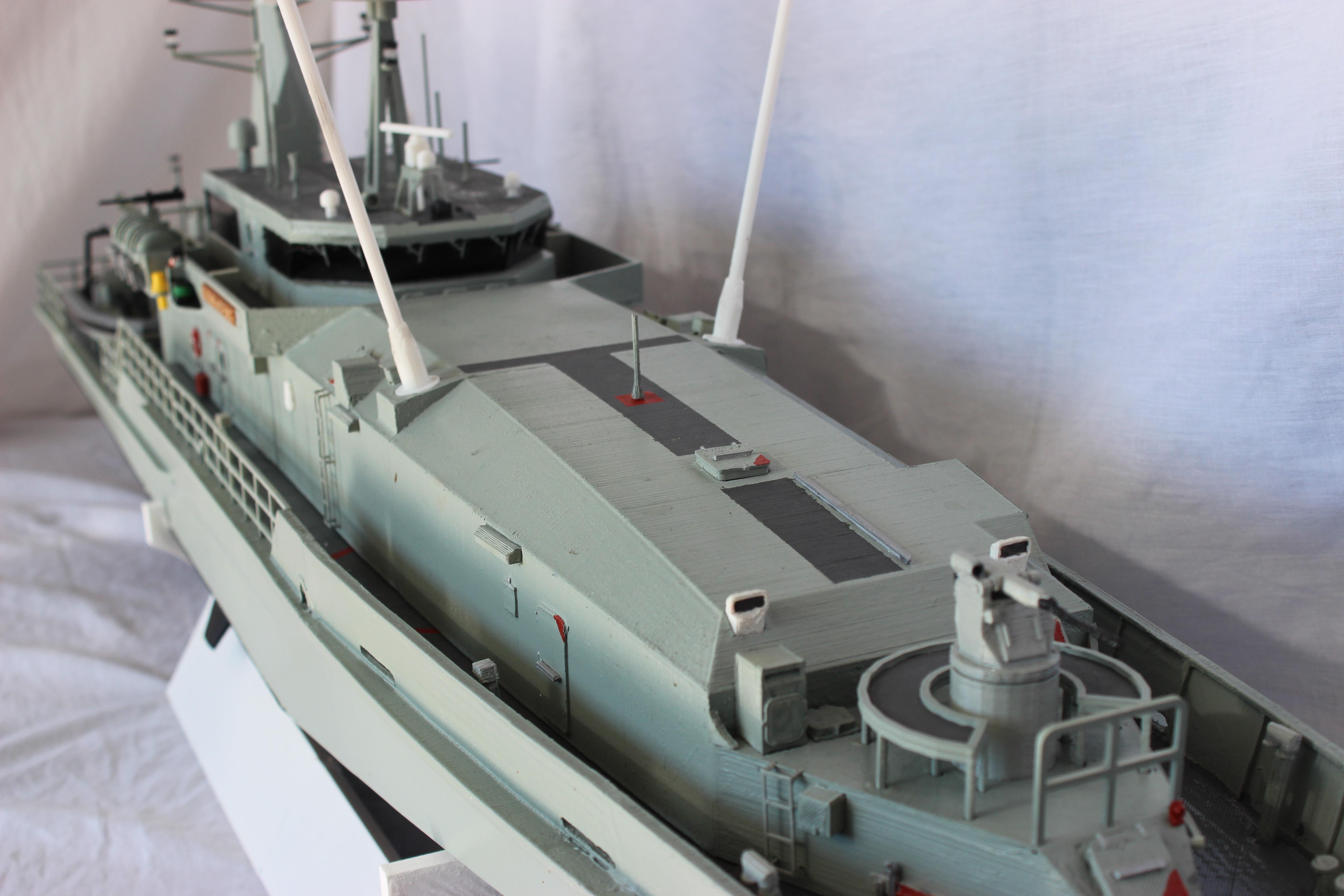 Giant 1 7 metre 3d printed RC ship - 3D Printing / 3D Printers