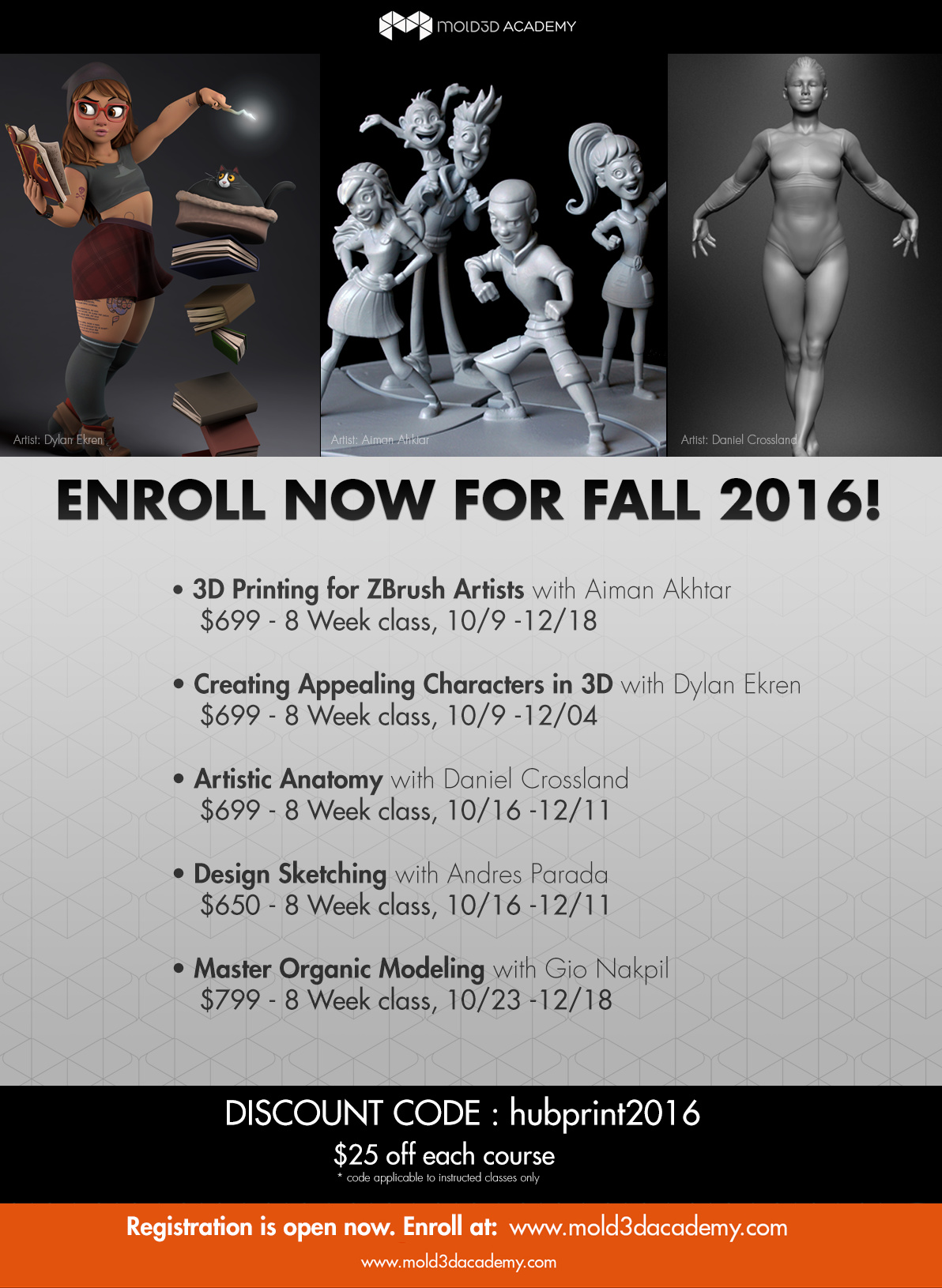 Mold3D Academy discount for online classes - Cad software - Talk ...
