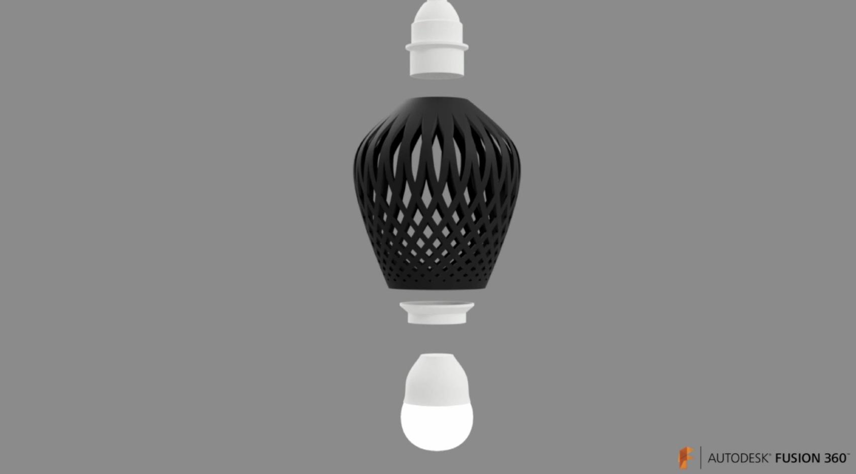 Fusion 360 Lampshade Tutorial - CAD - Talk Manufacturing