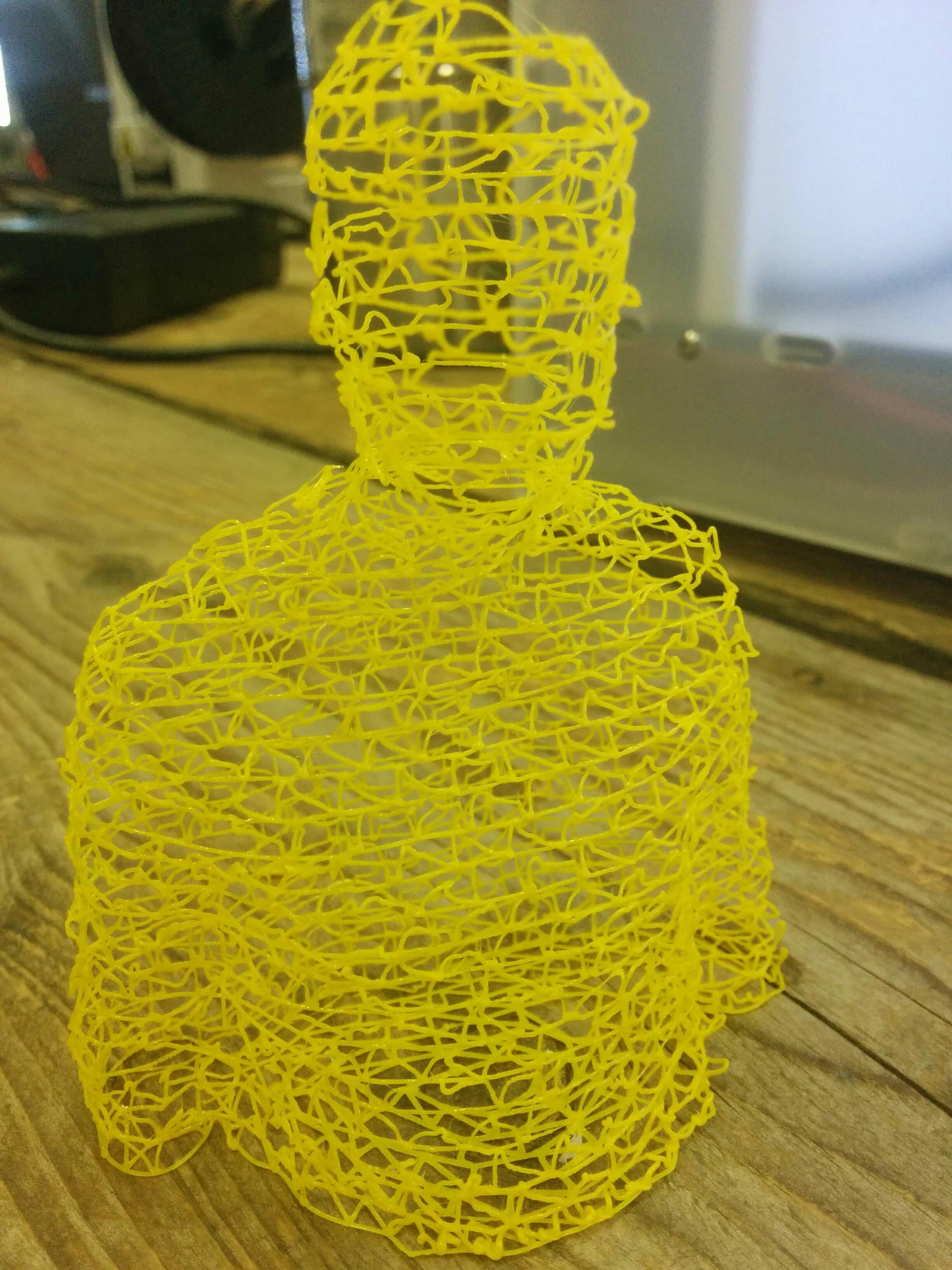 Wire Printing - Cura 15 06 03 - 3D Printing / 3D Printers - Talk