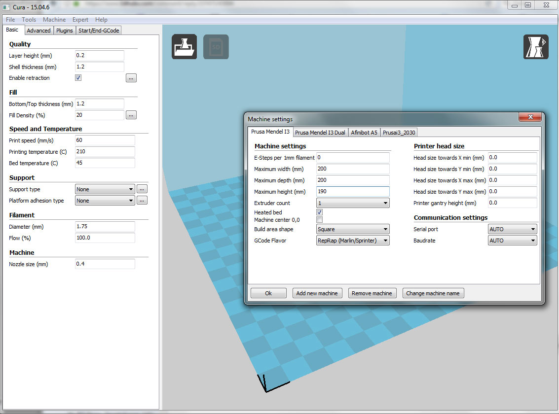 3d Printer not starting in center - 3D Printing / 3D Printers - Talk