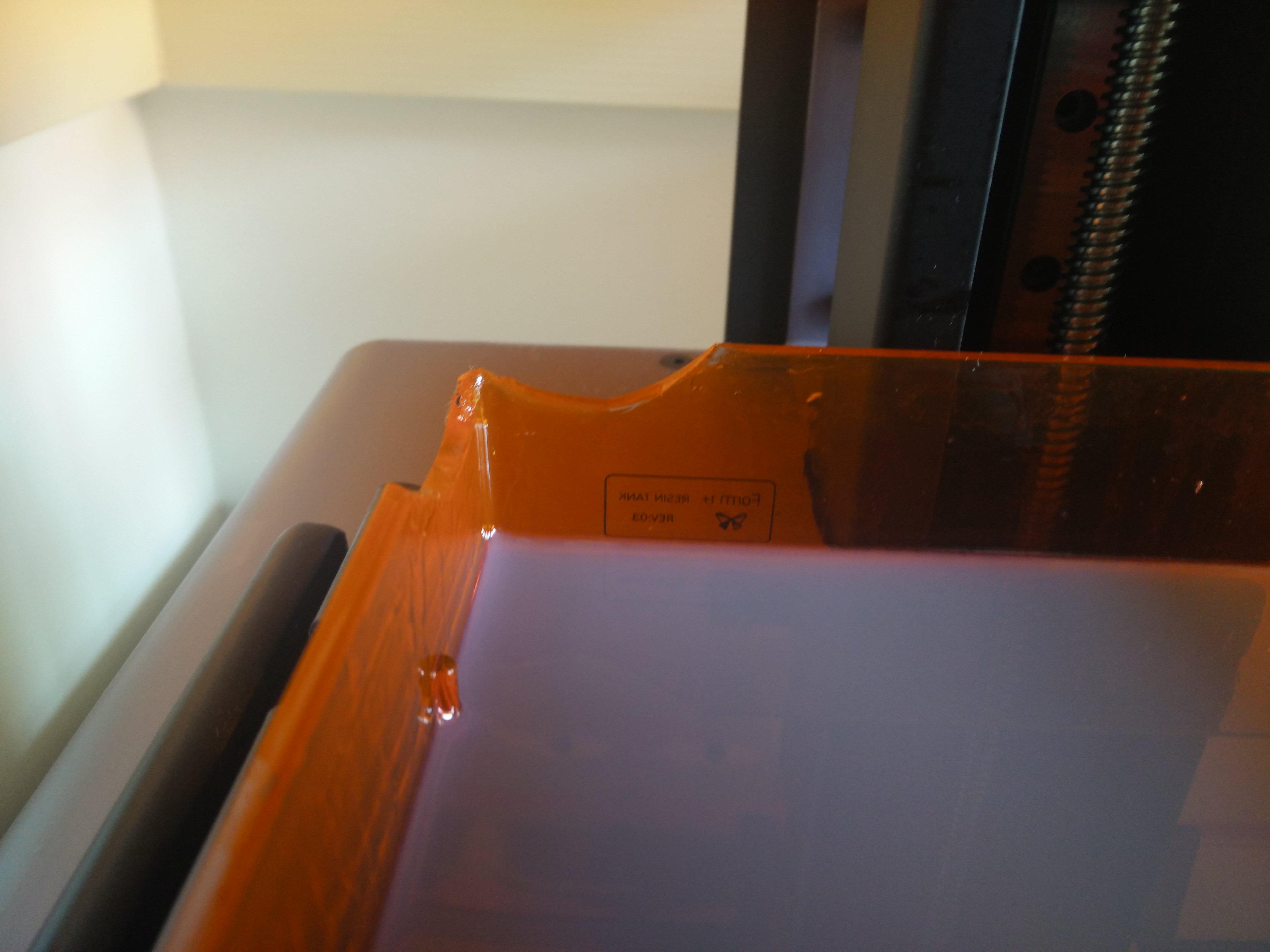 Resin Tanks Breaking in top left corner  - 3D Printing - Talk