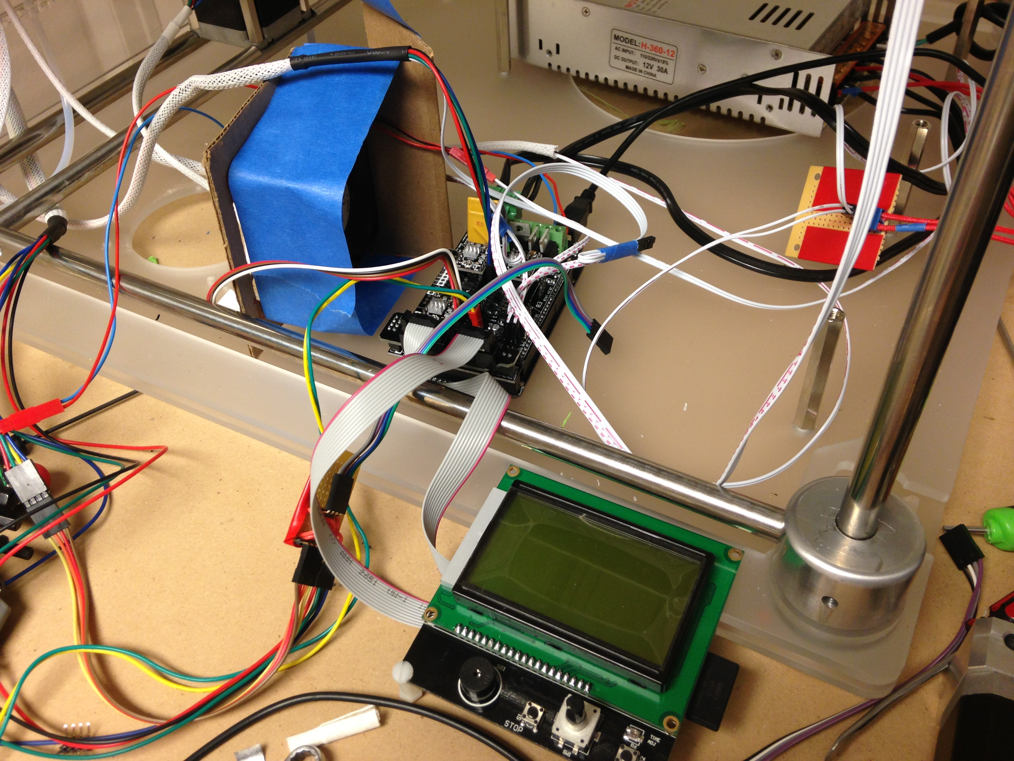 Cubex Reprap 3d Printers Talk Manufacturing Hubs Wiring Further Cnc Limit Switches On Honeywell Micro Switch Image 94jpeg3264x2448 233 Mb