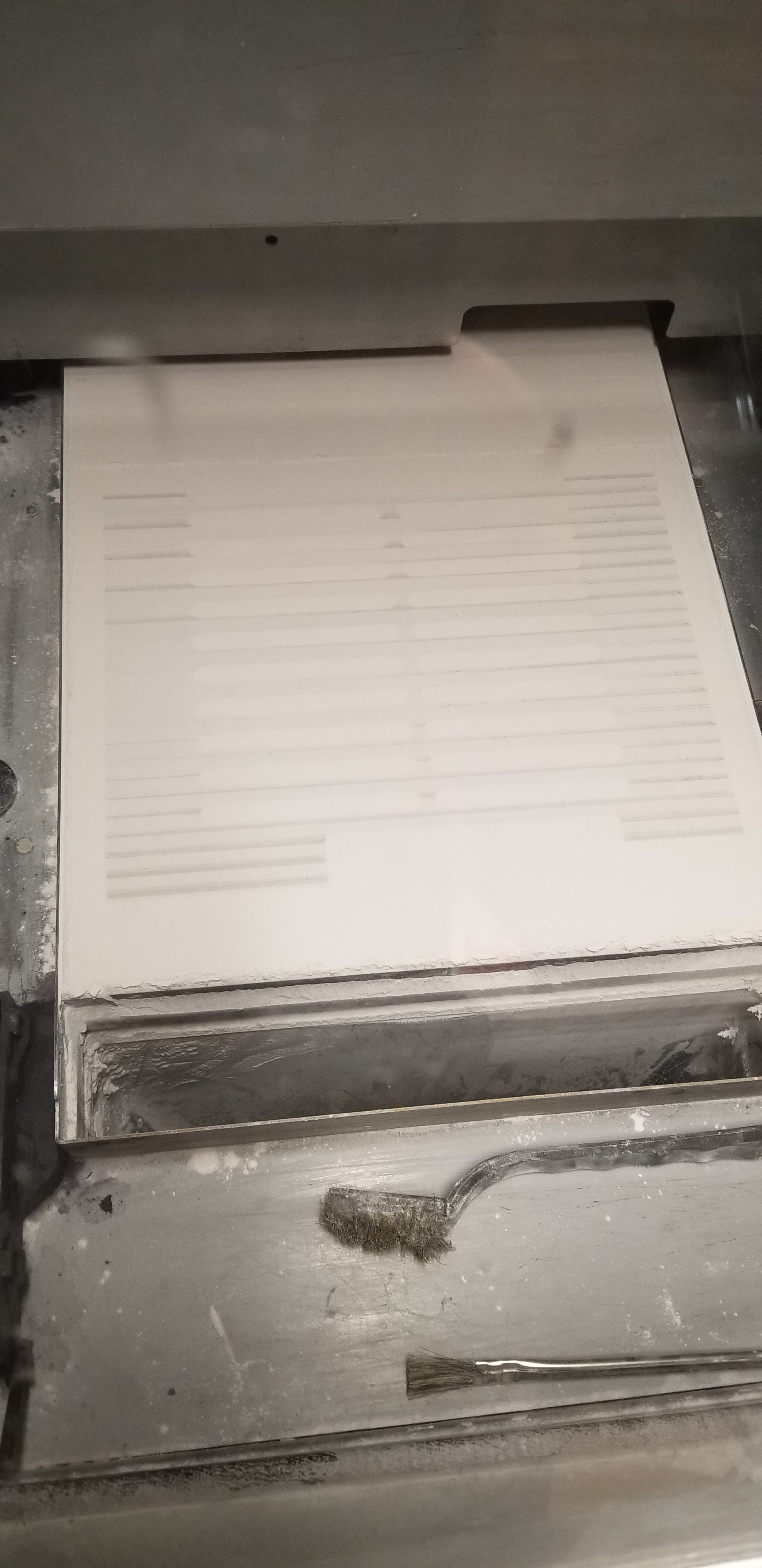 Zcorp 450 Print Head Clogging, Streaking, and Alignment Failure - 3D